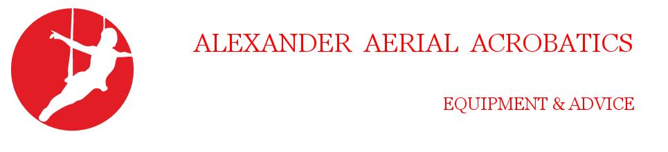 Alexander Aerial Acrobatics - Trapeze | Strapaten | Ringe | Zubehör | kaufen-Logo