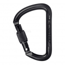 Steel carabiner Alien- Black or Silver